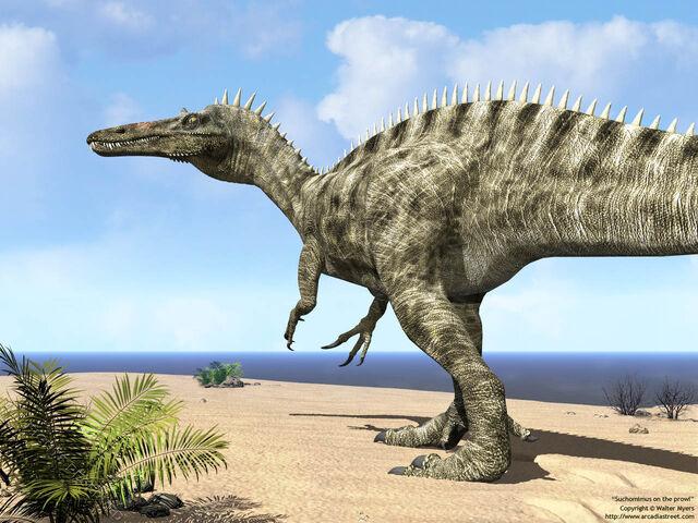 File:Suchomimus on beach 1280.jpg