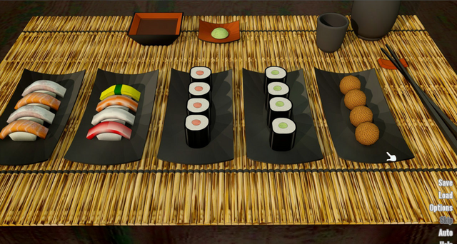 File:Mark's sushi... and Terry's miso..png