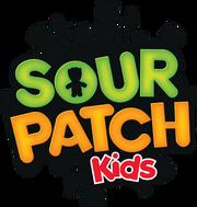 Sour Patch Kids logo 2012 and old cornpopslogo