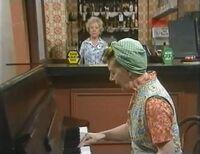 Hilda on piano