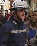Fire Officer Joe O'Byrne