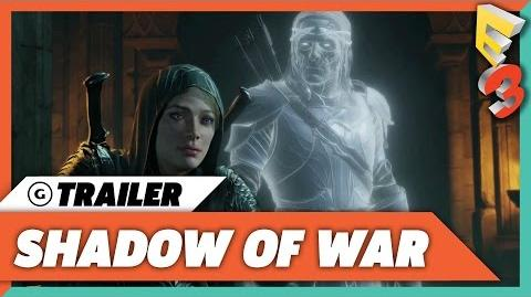 Shadow of War PC Cinematic Trailer E3 2017 PC Gaming Show