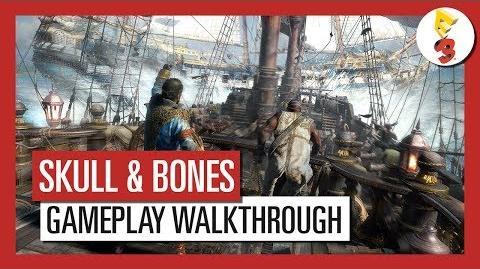Skull and Bones E3 2017 Multiplayer Gameplay Walkthrough