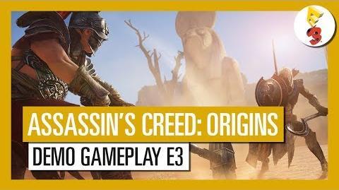 Assassin's Creed Origins Demo Gameplay del E3 2017