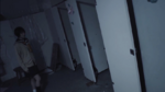 Naomi in the bathroom