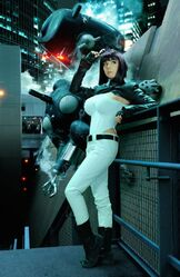 Riddle-Major Motoko Kusanagi