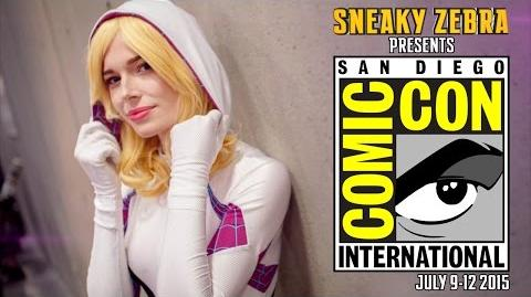 San Diego Comic Con (SDCC) - Cosplay Music Video 2015