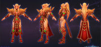 Tyrande - Blood elf cosplay