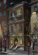 The Brownstone @ Christmas Time