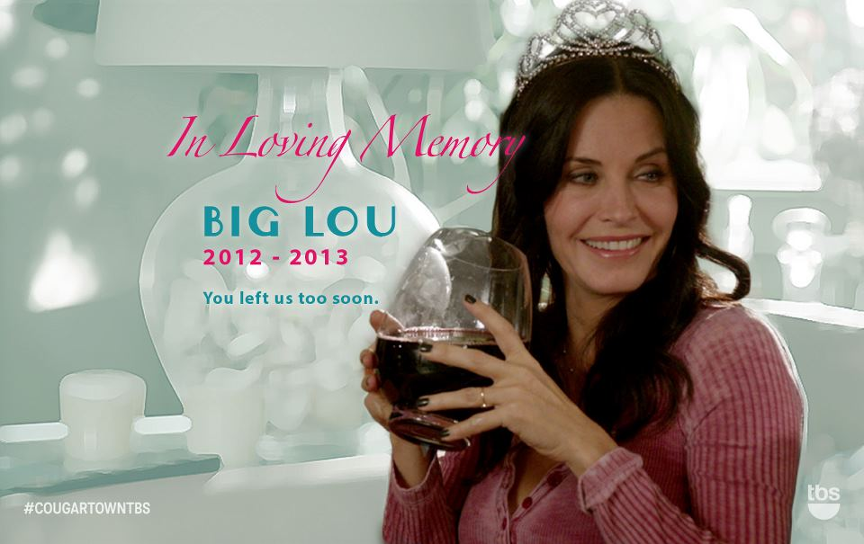 Cougar Town Wine Glass