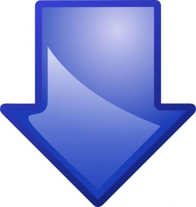 File:Arrow-blue-down-clip-art.jpg