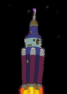 Cruel Vet's rocket