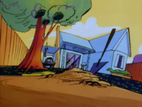 Cow and Chicken's House