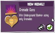 Grenade Guru Medal