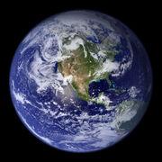 Earth Western Hemisphere