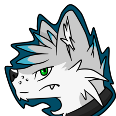 Paws headshot drawn by <a rel=