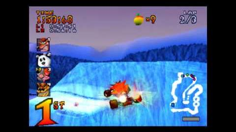 Polar Pass - Trophy Race - Crash Team Racing - 101% Playthrough (Part 13)