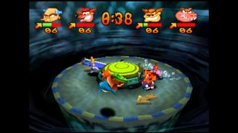 Splash Dash - Gem - Crash Bash - 200% Playthrough (Part 95)