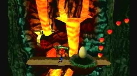 Crash Bandicoot 3 Warped - Level 32 Eggipus Rex (Gem Platinum Relic Get)