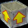 Crash Bandicoot 2 Cortex Strikes Back Iron Arrow Crate