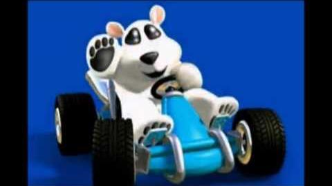 CTR Polar voice taunts quotes lines Crash Team Racing