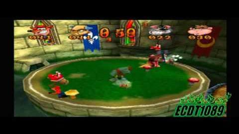 Crash Bash Playthrough Part 76 Mallet Mash Gem Challenge