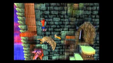 Slippery Climb - Red Gem - Crash Bandicoot - 100% Playthrough (Part 21)