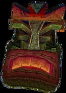 Crash Bandicoot 2 Cortex Strikes Back Angry Tiki