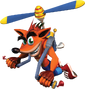 Crash Bandicoot The Wrath of Cortex Copterpack
