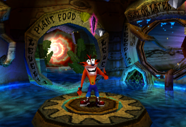 warp zone 3 egouts crash bandicoot 2 cortex strikes back