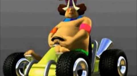 CTR Papu Papu voice taunts quotes lines Crash Team Racing