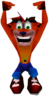 Crash Bandicoot Hanging Crash 2