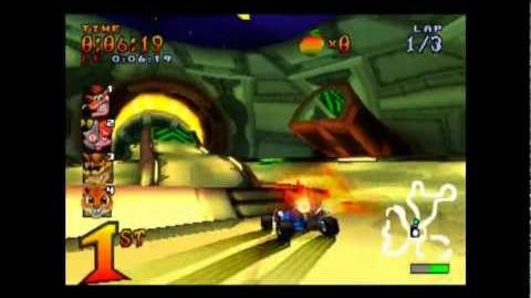 Oxide Station - Trophy Race - Crash Team Racing - 101% Playthrough (Part 19)