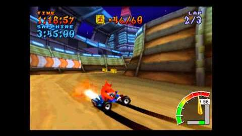 Tiny Arena - Platinum Relic - Crash Team Racing - 101% Playthrough (Part 53)