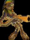 Crash Bandicoot 3 Warped Flamethrowing Lab Assistant