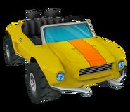 YellowTestcarRender