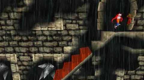 -Crash Bandicoot - Unused Removed Level Stormy Ascent (Gem Run)