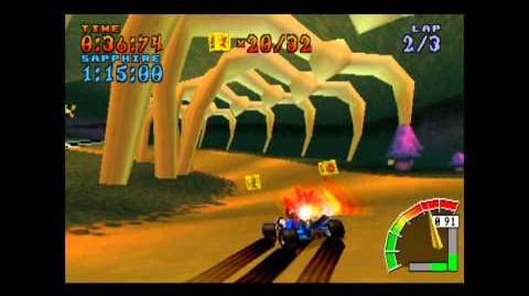 Roo's Tubes - Platinum Relic - Crash Team Racing - 101% Playthrough (Part 43)