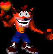 Crash Bandicoot 1 Crash Wumpa Fruit