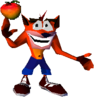 Crash Bandicoot 1 Crash Wumpa Fruit