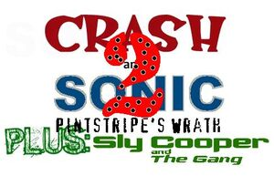 Crash and Sonic 2 Logo