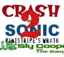 Crash and Sonic Plus Sly Cooper and the Gang 2: Pinstripe's Wrath