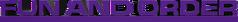 Fun & Order 3rd Logo 3d