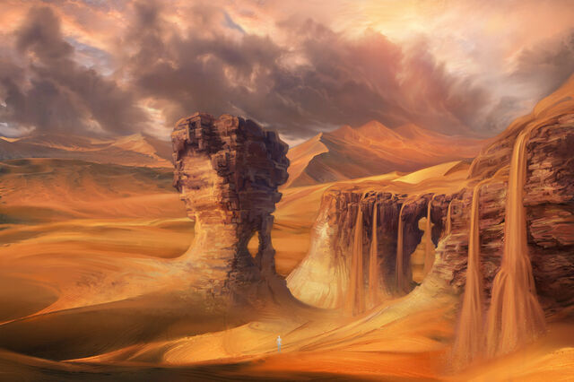 File:Desert waterfall concept by patheagames-d5h55hb.jpg