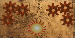 Steampunk thingy emblem