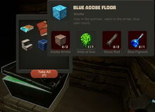 Creativerse Blue Adobe Floor Stone Chest01