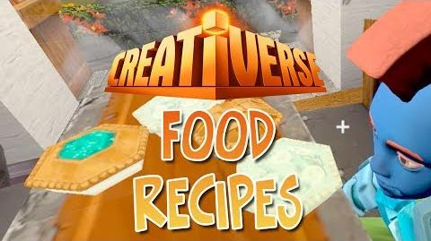 How To Craft All The Food - Creativerse Tips-0