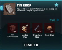 Creativerse crafting recipes roofs R41,5 17