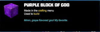 Creativerse tooltips R40 065 goo blocks crafted colored glass