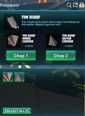 Creativerse R41,5 processing corners for roofs 516